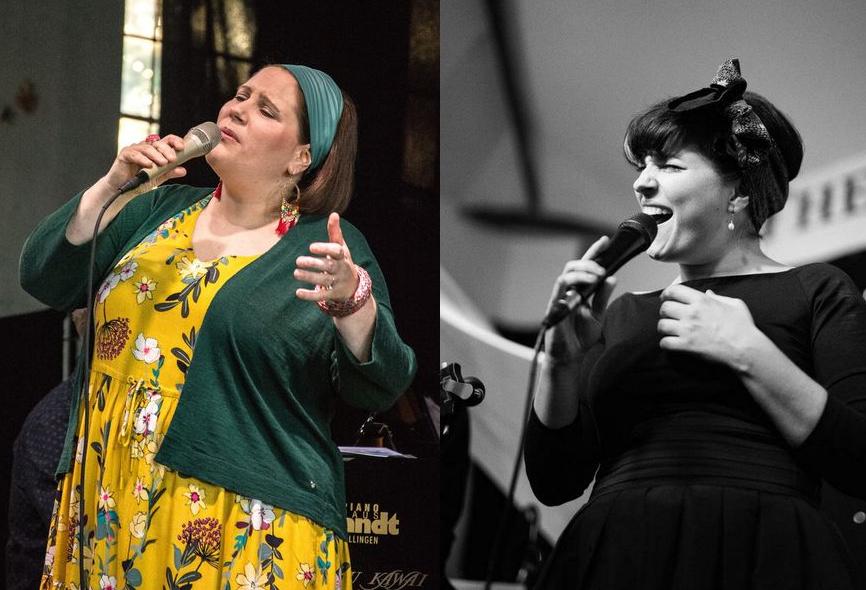 links:Barbara Bürkle, rechts: Marta Capponi