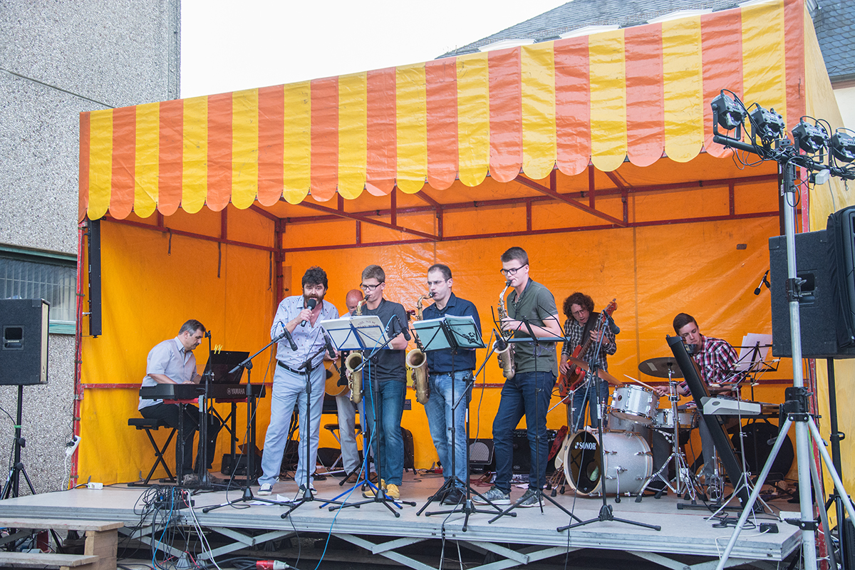 Abschlußkonzert 2016 auf dem Rathaushof