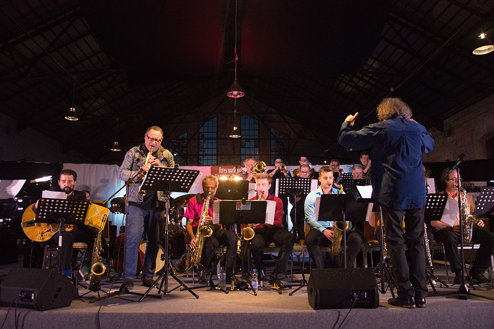Bigband Urknall 2017 with Gilad Atzmon